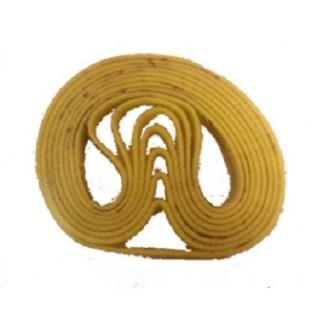 Polierband gelb 13x610
